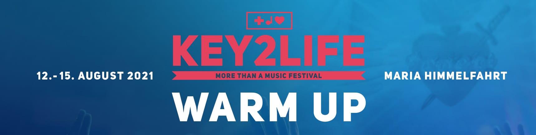 Key2life warm up
