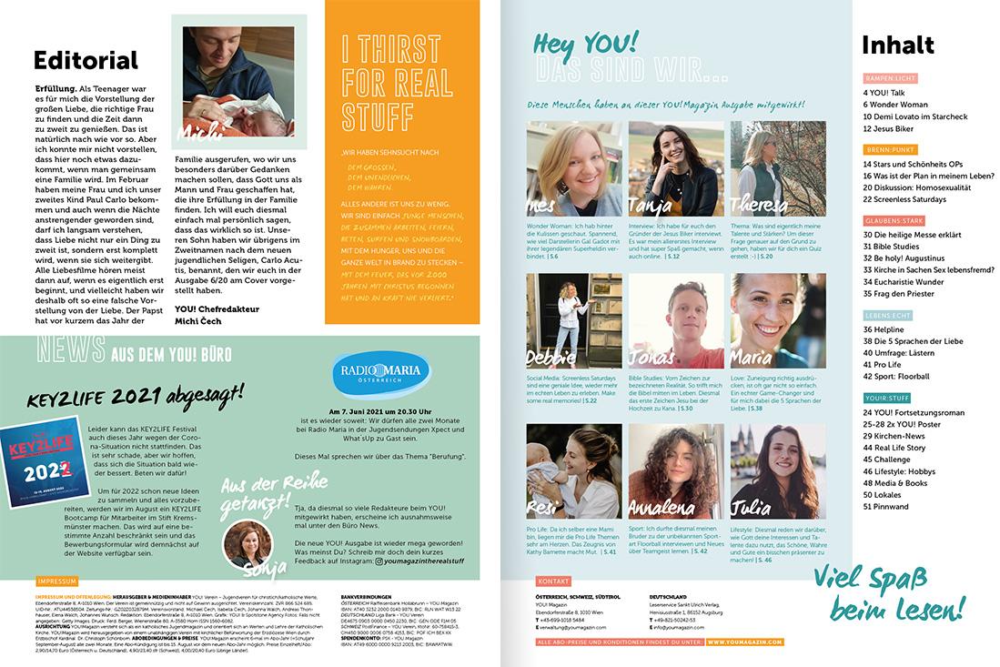 YOU! Magazin 3/21