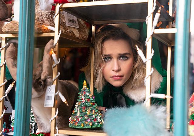 "Kate (Emilia Clarke) in ""Last Christmas""."