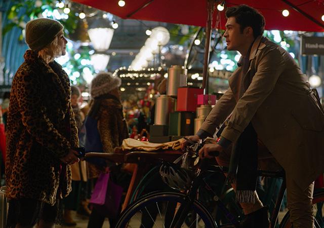 Kate und Tom im Weihnachtsladen