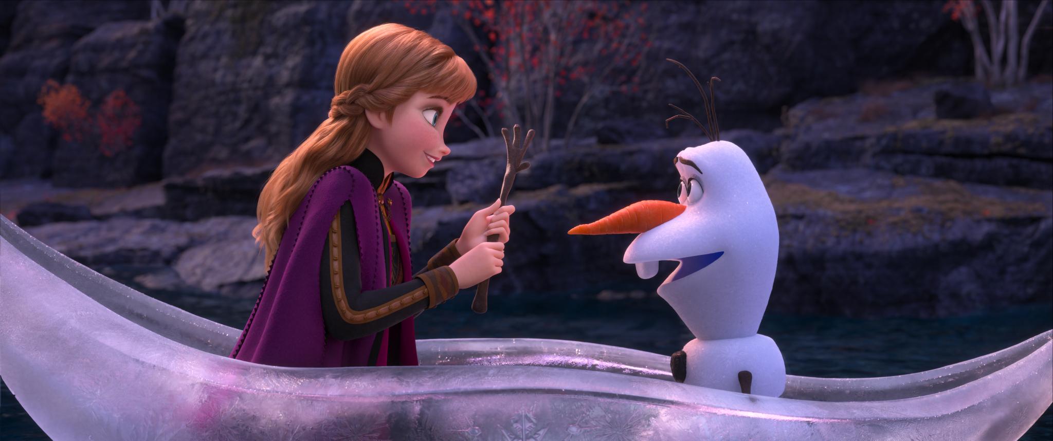 """Anna und Olaf, """"Frozen 2"""""""