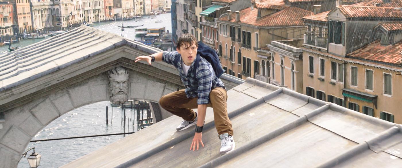Spider-Man Peter Parker Tom Holland