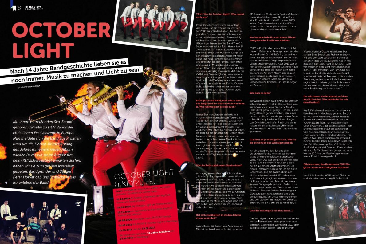 YOU Magazin 4/19 - October Light