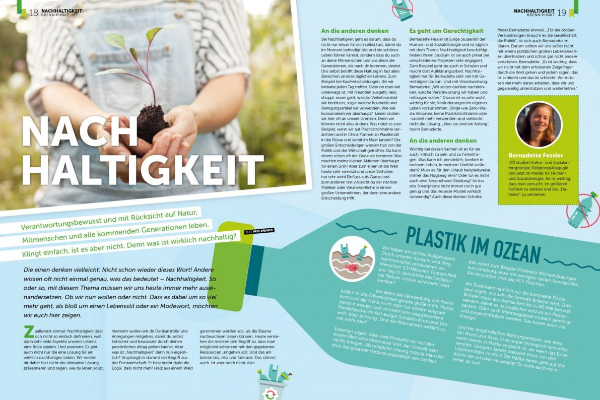 YOU Magazin 4/19 - Nachhaltigkeit