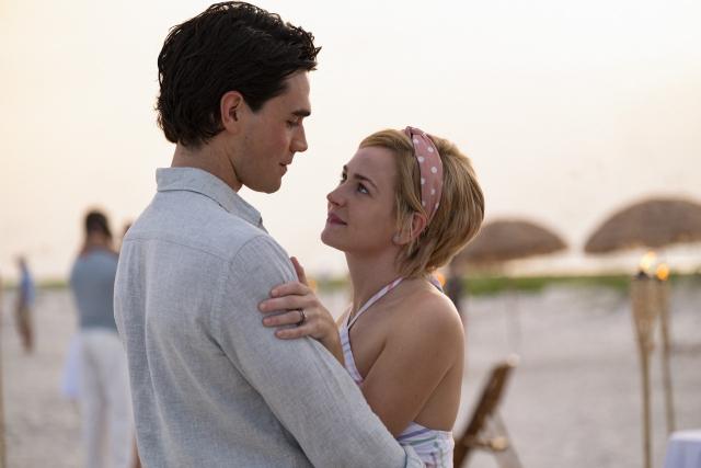 Jeremys und Melissas Hochzeit